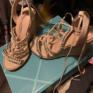 Shoes - Bling wedges